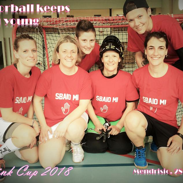 Pink Cup SUM-AUHT 2018 - Floorball keeps