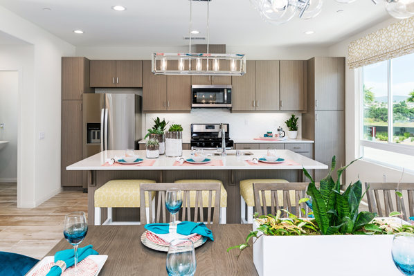 Alay Residence 1 Dining Table and Kitchen