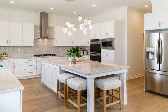 Bella Sitia Residence 2 Kitchen Island Zoom Out