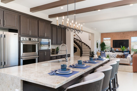 Bella Sitia Residence 3 Kitchen Island Zoom