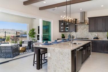 Bella Sitia Residence 3 Kitchen Island Angle
