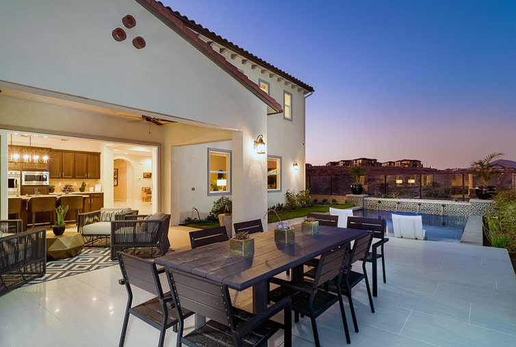 Bella Sitia Residence 3 Outside Twilight