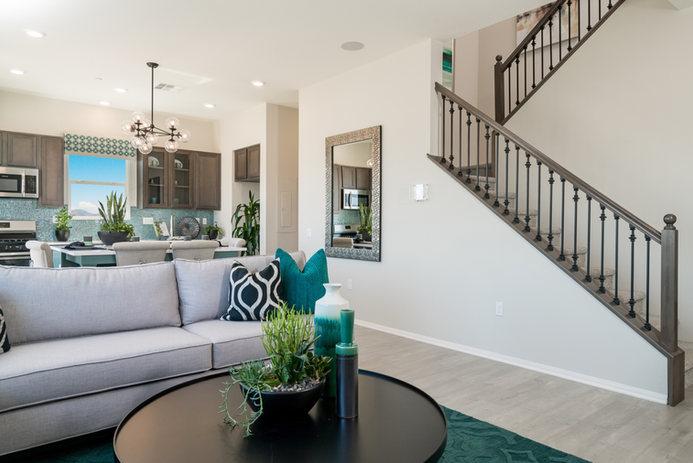 Suwerte Residence 2 Living Room Angle