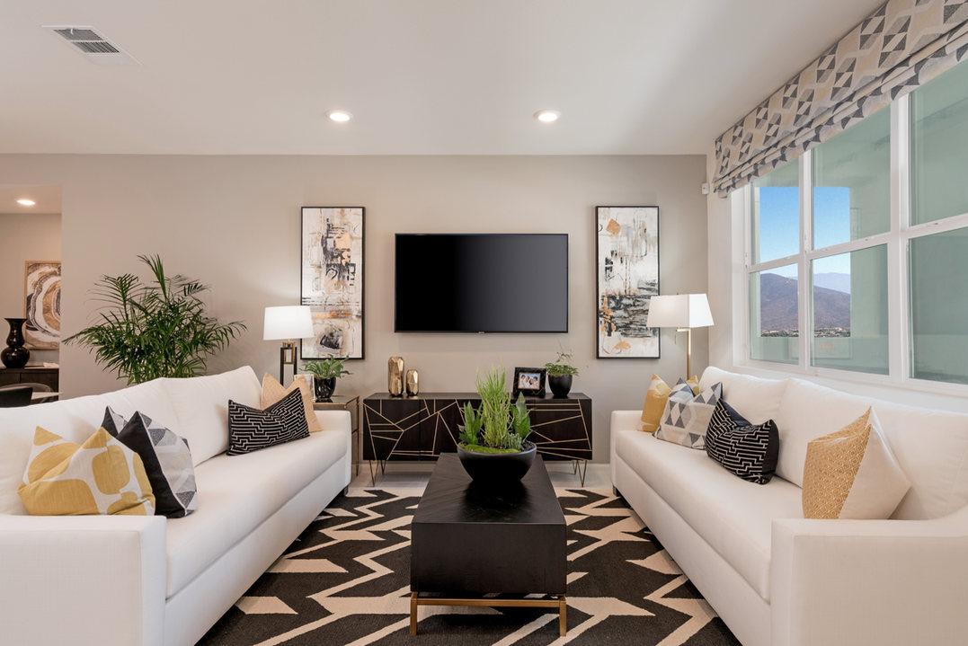 Suwerte Residence 6 Living Room
