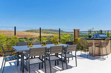 Bella Sitia Residence 3 Backyard Table