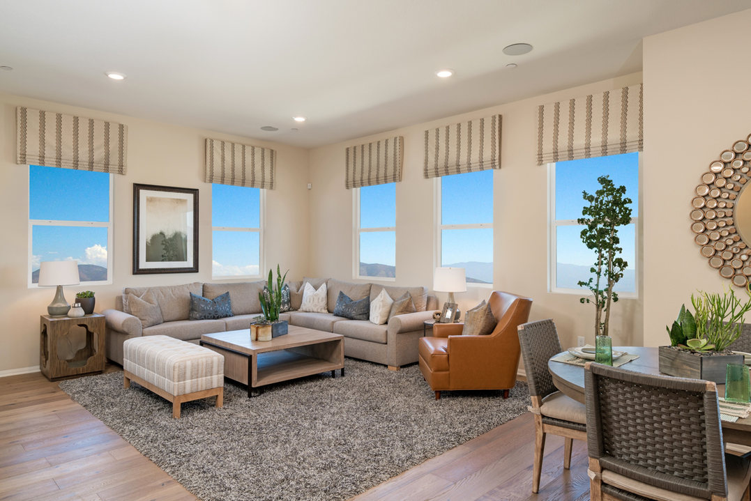 Suwerte Residence 5 Living Room Angle