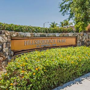 Hillsborough Park Sign