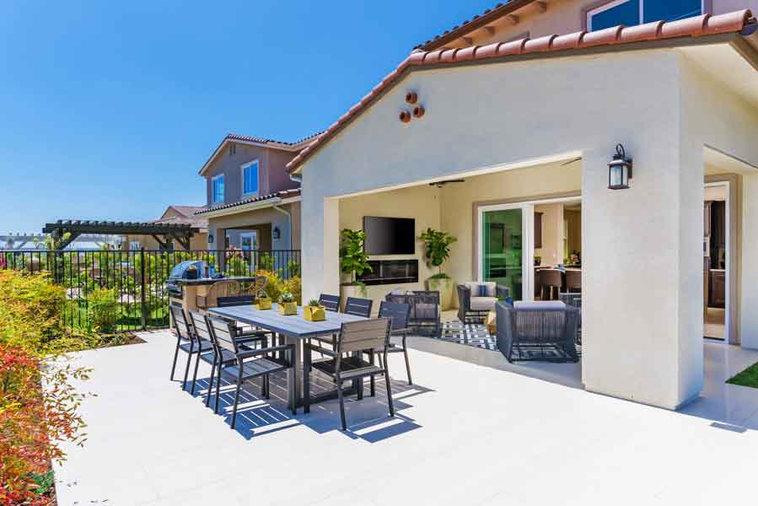 Bella Sitia Residence 3 Backyard Alternate View