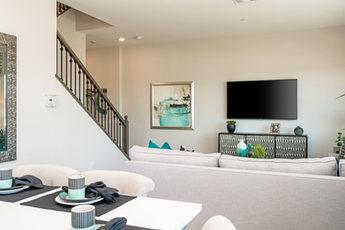 Suwerte Residence 2 Living Room Opposite View