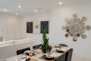 Suwerte Residence 6 Dining Table Angle