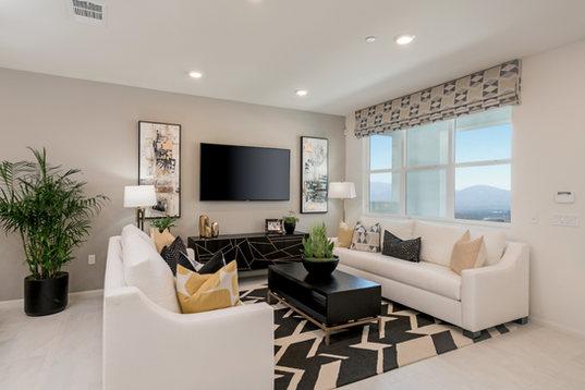 Suwerte Residence 6 Living Room Angle