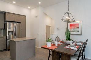 Suwerte Residence 4X Dining Table Angle