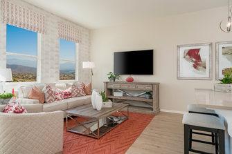 Suwerte Residence 1 Living Room Angle