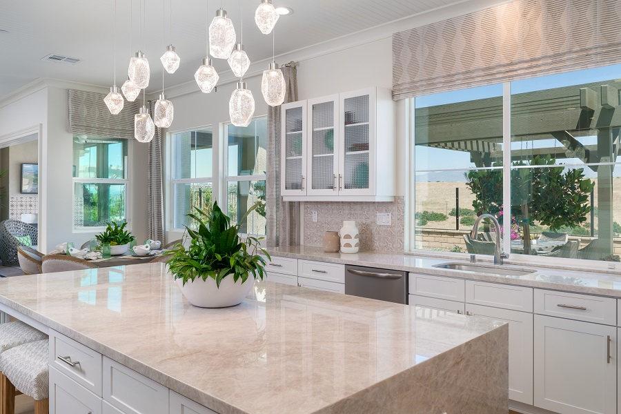 Bella Sitia Residence 2 Kitchen Island Angle