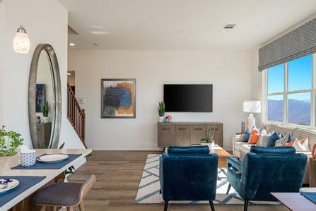 Suwerte Residence 3 Living Room Opposite Angle