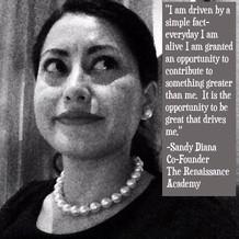 Guest Post: An inspirational message from Sandy Escobedo