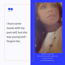 Forgiving Your Past Self