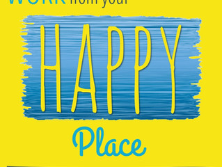 Interview with the Work From Your Happy Place Podcast, with host Belinda Ellsworth