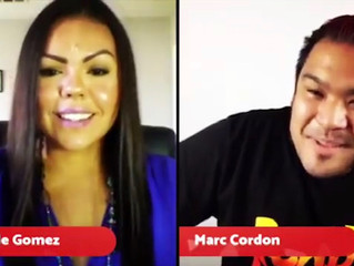 My interview on The Golden Mic, with Marc Cordon