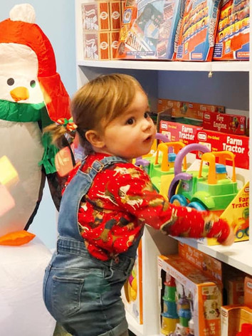 Our gift shop has toys and present ideas for all ages!