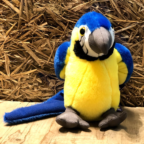 Buster the Macaw plush toy