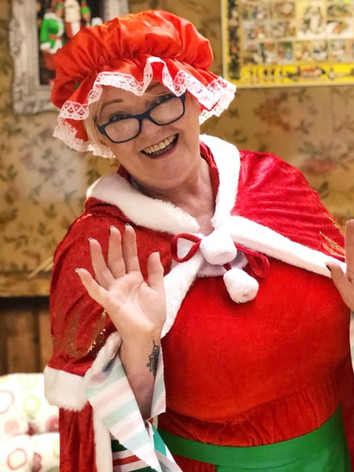 Mrs Claus can't wait to see you!