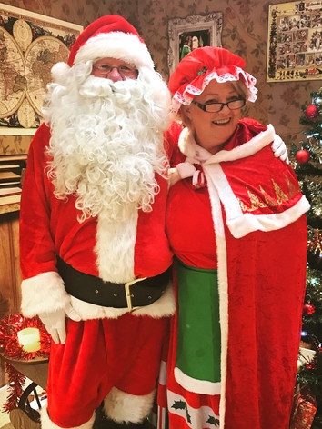 Santa and Mrs Claus can't wait to come back to visit!