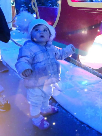 Our grotto walkway is a sensory delight for all ages.