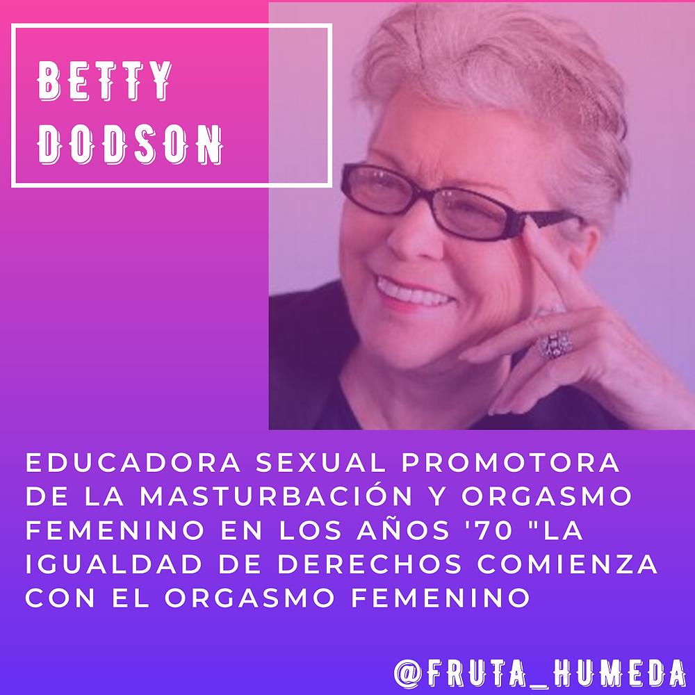 Betty Dodoson Abuela de la Masturbación