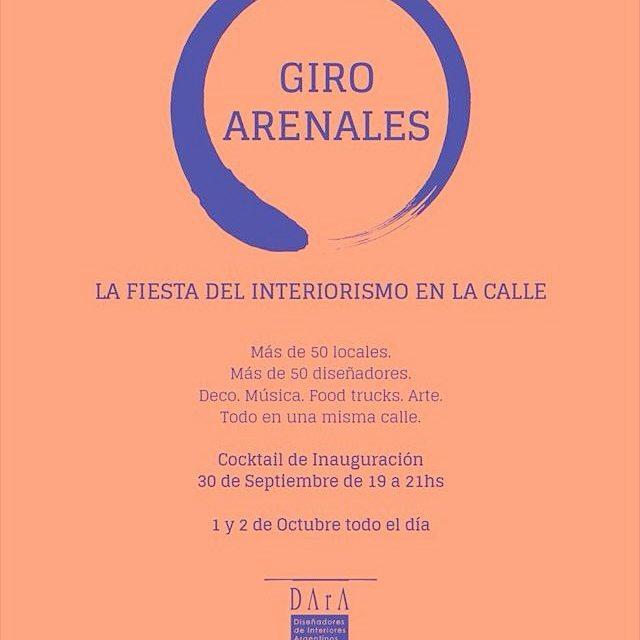 Los esperamos en Giro Arenales - Cocktail de inauguración 30 de septiembre! #proximamente #dara #arqrominacalzi #giroarenales #arenales #eve