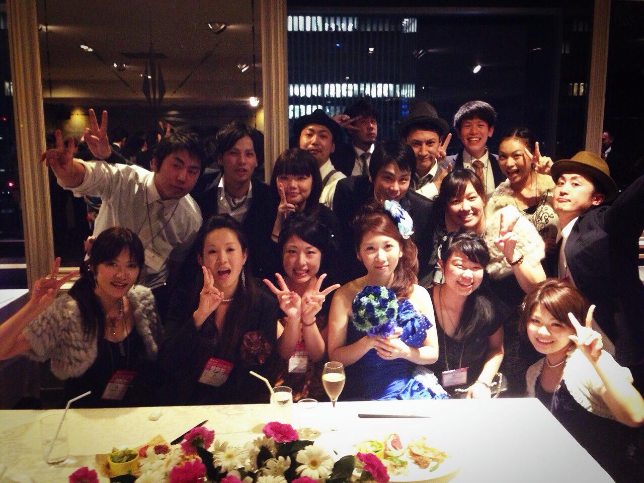 2013年 メンバー結婚式①