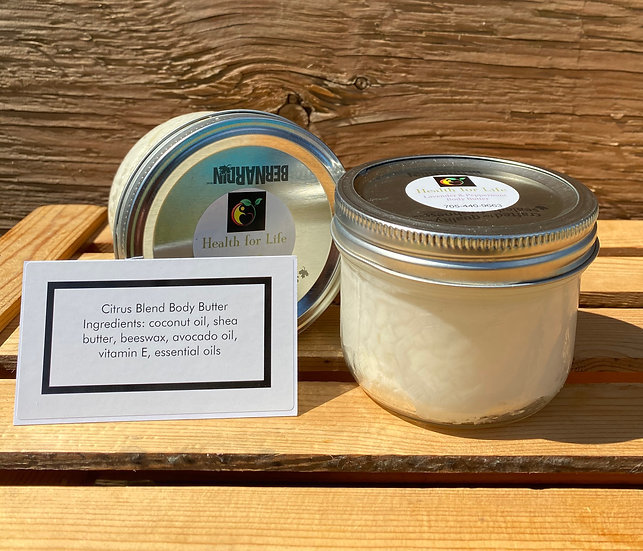 Citrus Blend Body Butter Large Jar