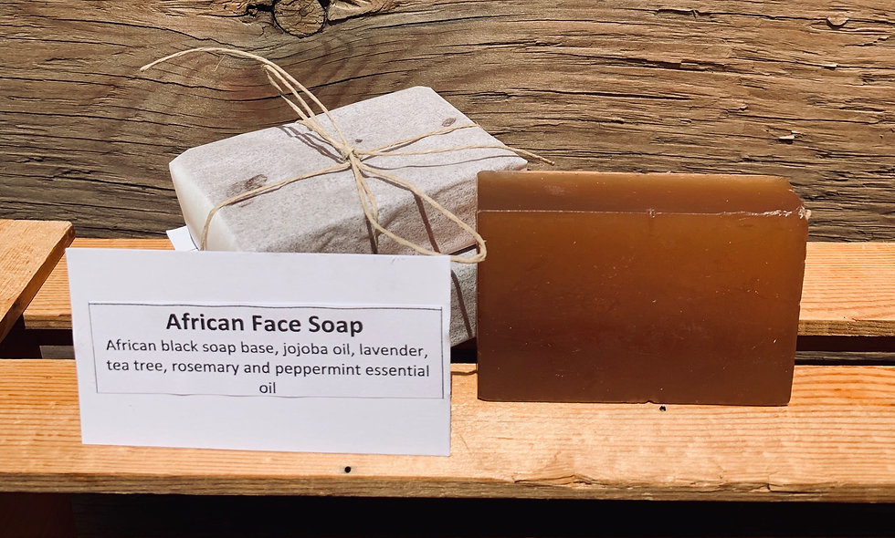 African Face Soap