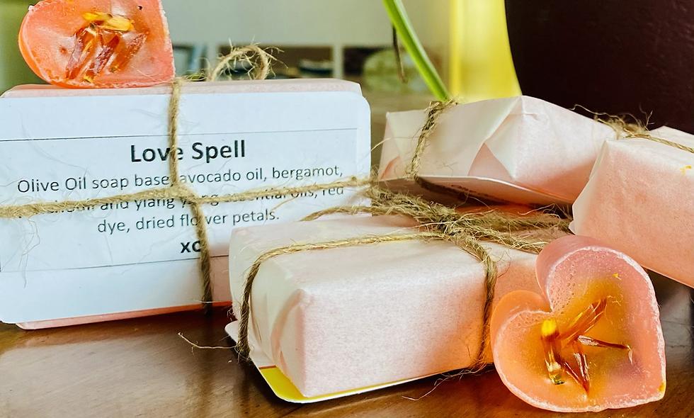 Love Spell Soap Bars