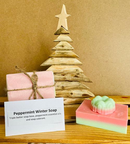 Peppermint Winter Soap