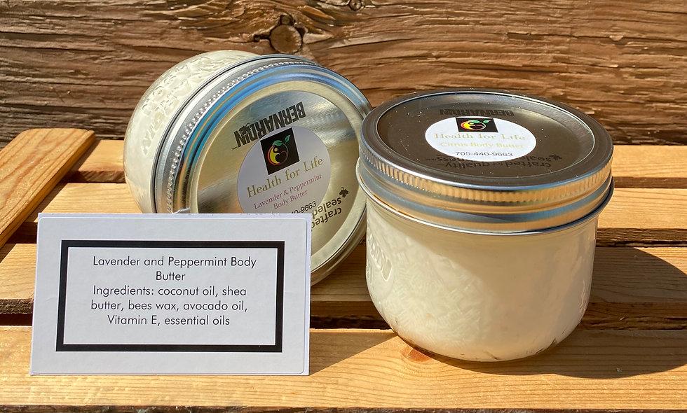 Lavender & Peppermint Body Butter