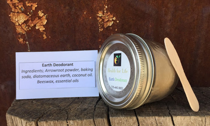 Earth Deodorant Jar