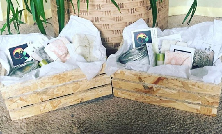 Wooden Gift Crates