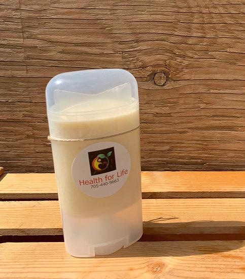 Natural Deodorant Stick *No added Scent*
