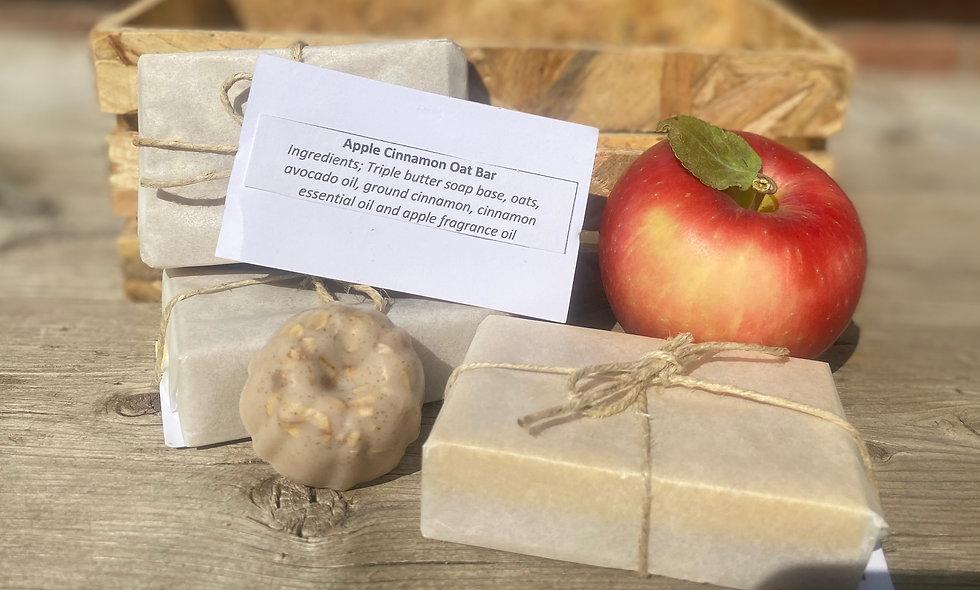 Apple Cinnamon Oat Bar