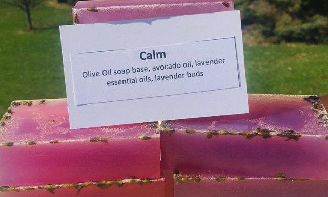 Calm soap