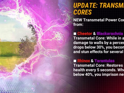 Power Core Update