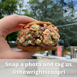Snap a photo and tag us @thewrightscoopri.