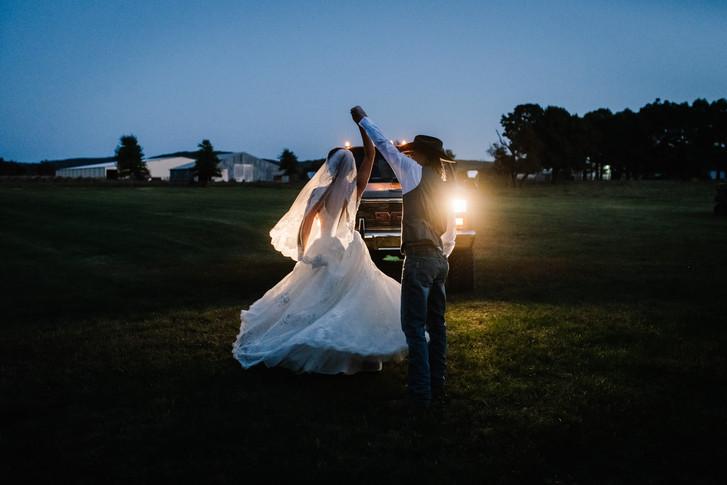 The Barn at Hat Creek Ranch Wedding
