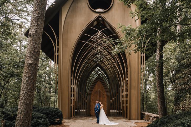 Cooper B Memorial Chapel Bella Vista Wedding