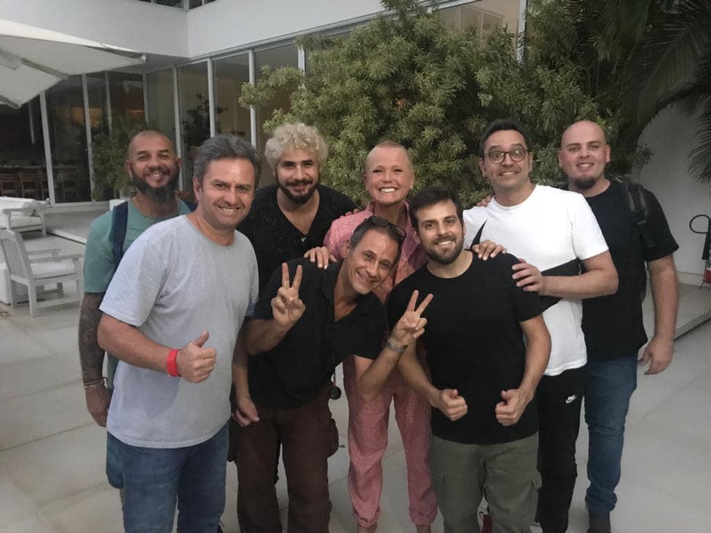 Equipe Plot com Xuxa