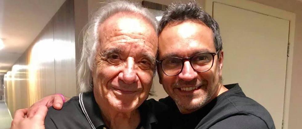 Joni e Maestro João Carlos Martins