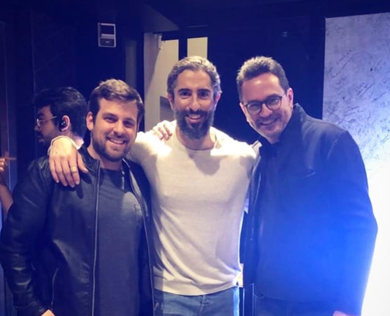 Os sócios Joni, Rodrigo e Marcos Mion