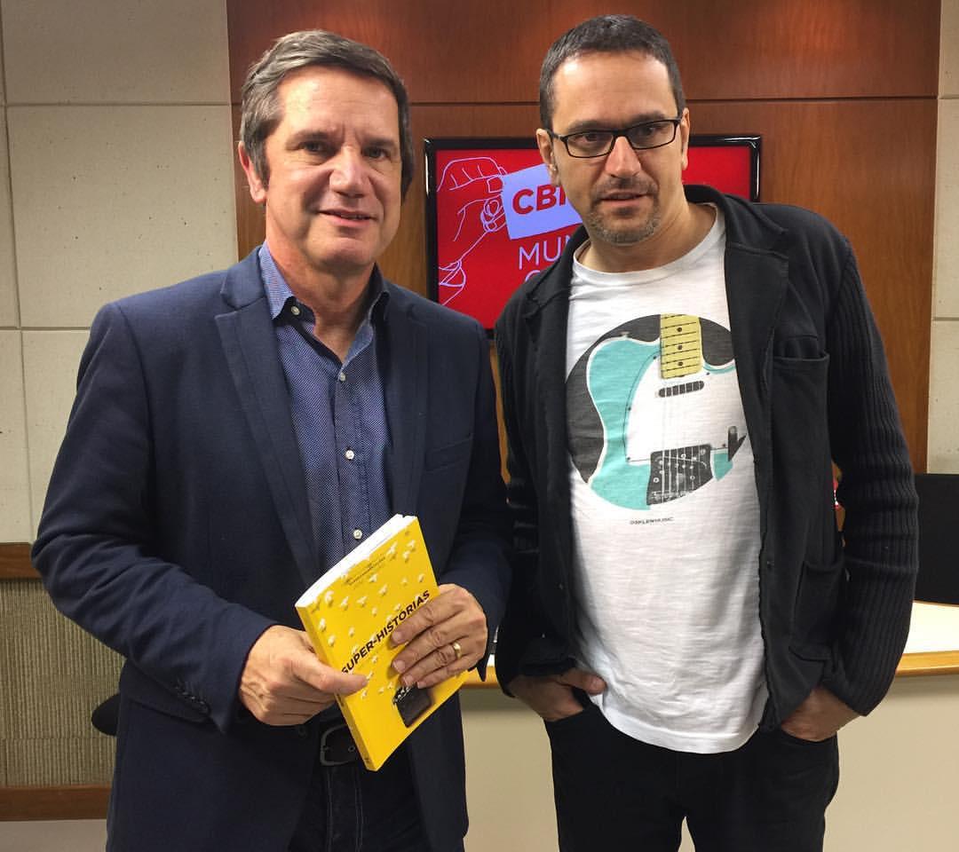 Mílton Jung em entrevista com Joni Galvão