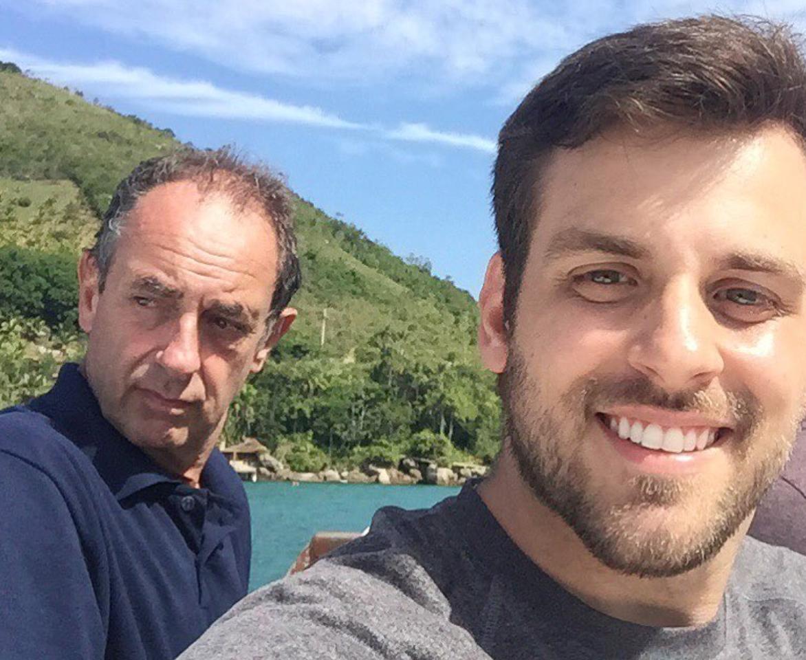 Rodrigo Portaro e Amyr Klink